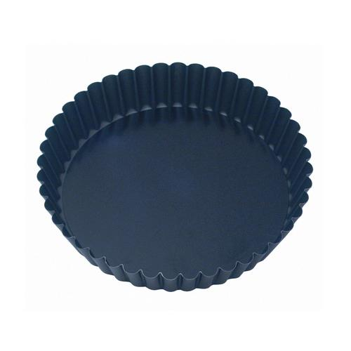 CAKE PAN NON STICK FLUTED 250X47MM LOOSE BASE GUERY