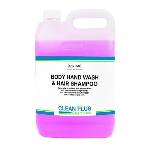 BODY - HAND WASH & HAIR SHAMPOO 5L CLEAN PLUS