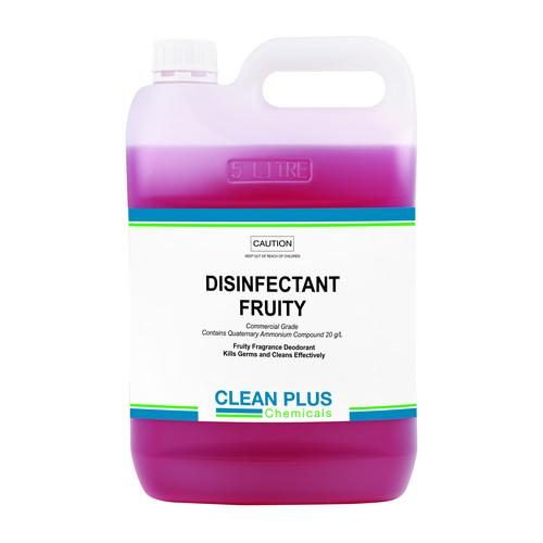 DISINFECTANT FRUITY 5L CLEAN PLUS