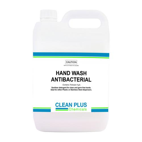HAND SOAP LIQUID ANTIBACTERIAL 5L CLEAN PLUS