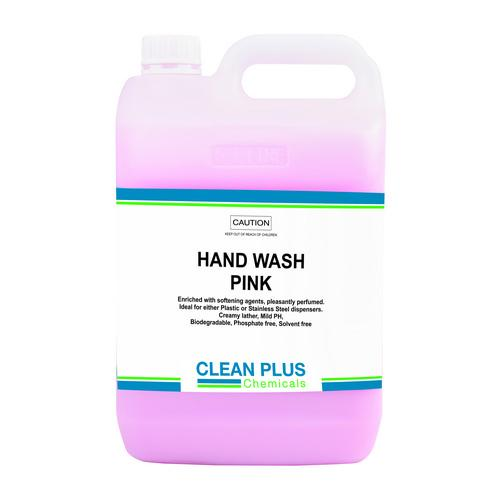 HAND SOAP LIQUID PINK 5L CLEAN PLUS
