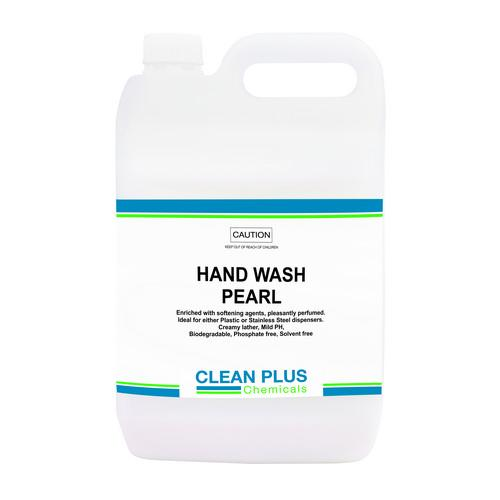 HAND SOAP LIQUID PEARL WHITE 5L CLEAN PLUS