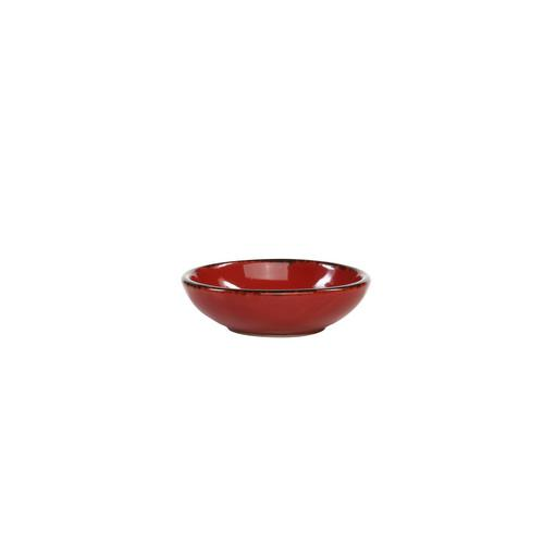 DISH ROUND COUPE 70MM CAYENNE SPICE FORTESSA