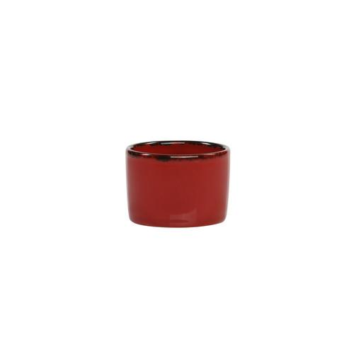 DISH ROUND DIPPER / SIPPER 55X40MM CAYENNE SPICE FORTESSA