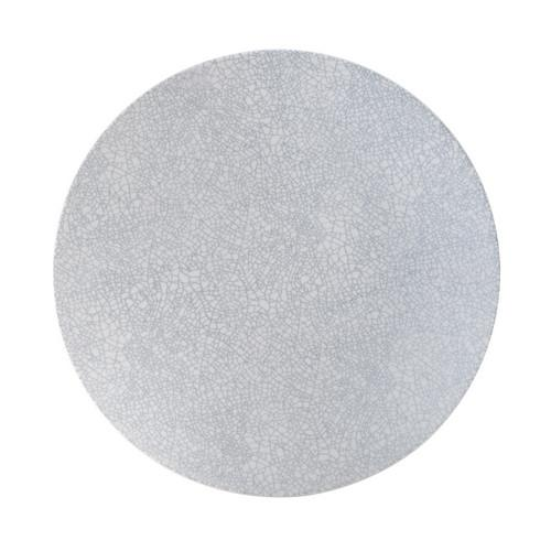PLATE ROUND COUPE 155MM GREY WEB ZEN LUZERNE