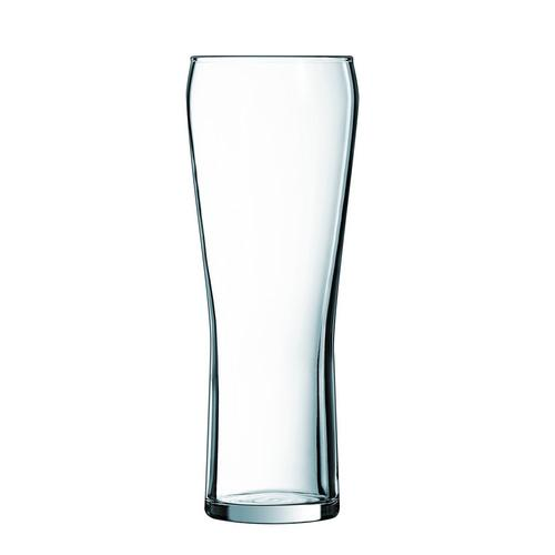 BEER GLASS 570ML PINT CERTIFIED TEMPERED & NUCLEATED EDGE ARCOROC