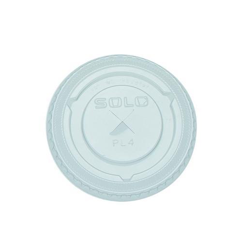 LID PLASTIC CLEAR FLAT FOR 285 / 350ML CUP ANCHOR (CT1000)