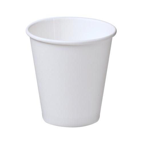 CUP PAPER HOT DRINK SINGLE WALL WHITE 240ML (CT1000)