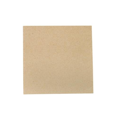 NAPKIN COCKTAIL QUILTED KRAFT 240X240MM ULTIMATE (CT2000)