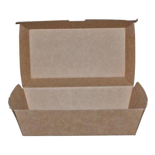 SNACK BOX REGULAR BETA BOARD BROWN 175X90X84MM (CT200)