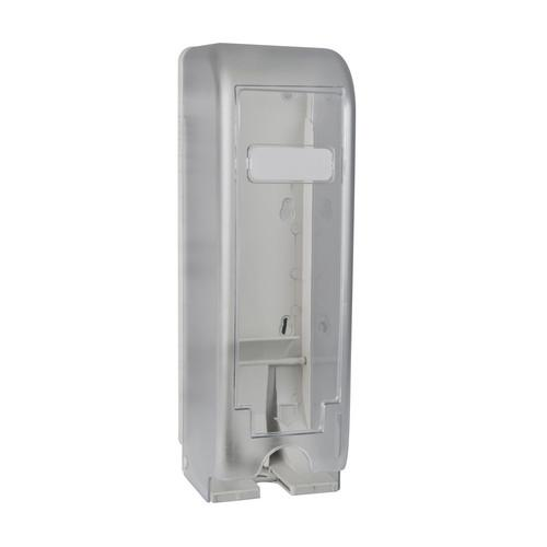 DISPENSER TRIPLE PLASTIC WHITE FOR TOILET ROLL