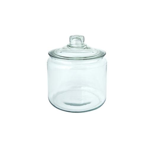 JAR STORAGE GLASS W/LID 7.5L HERITAGE ANCHOR