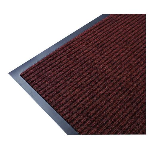MAT ENTRANCE RIBBED 900X1500MM BROWN