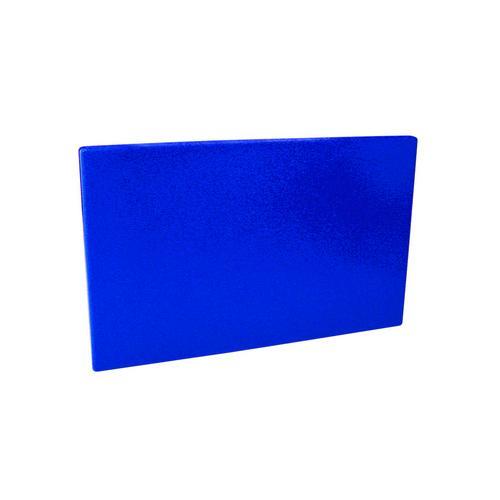CUTTING BOARD POLY BLUE 380X510X19MM