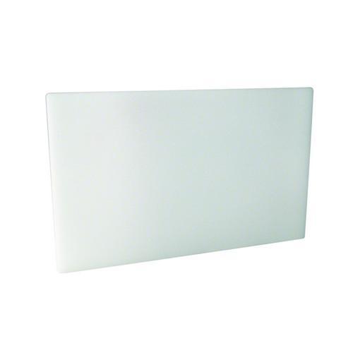 CUTTING BOARD POLY WHITE 380X510X25MM