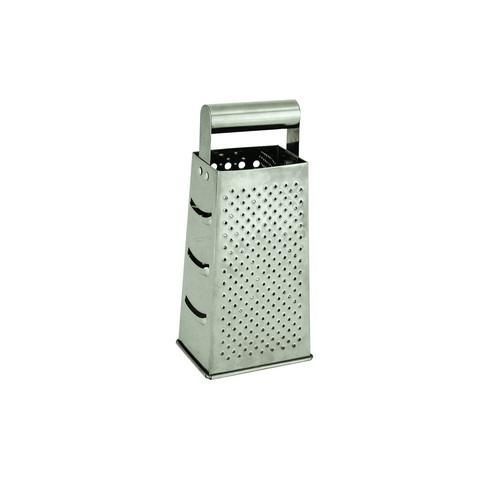 GRATER S/S 4 SIDED BOX 110X85X240MM TUBE HANDLE