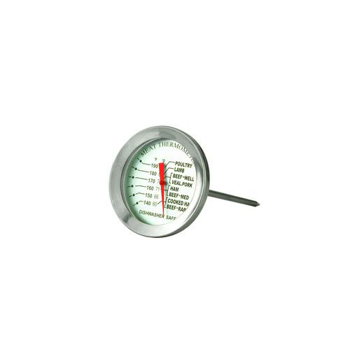 THERMOMETER DIAL MEAT / BBQ S/S 50MM 60c TO 87c