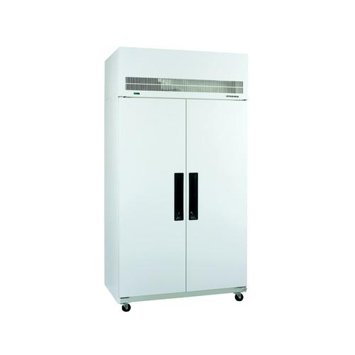 FREEZER UPRIGHT 1 GLASS DOOR WHITE 520L 738MM DIAMOND STAR WILLIAMS