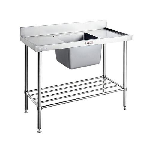 SINK BENCH S/S CENTRE 1500X600X900MM SIMPLY STAINLESS