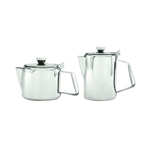 COFFEE POT S/S 1L STRAIGHT SIDE PACIFIC