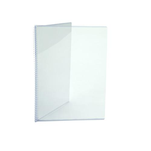 MENU COVER CRYSTAL A4 3 PANEL 210X297MM