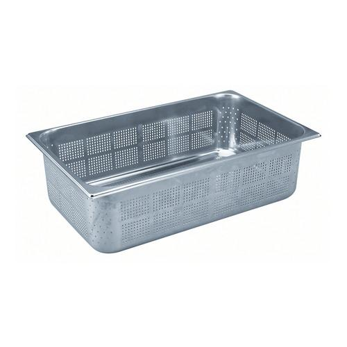 GASTRONORM PAN S/S 1/1 SIZE PERF 100X325X530MM