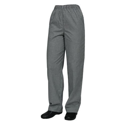 CHEF PANTS DRAWSTRING P/C TRADITIONAL CHECK MEDIUM PROCHEF