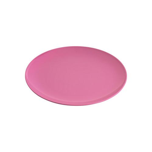 PLATE ROUND COUPE 200MM HOT PINK MELAMINE GELATO JAB