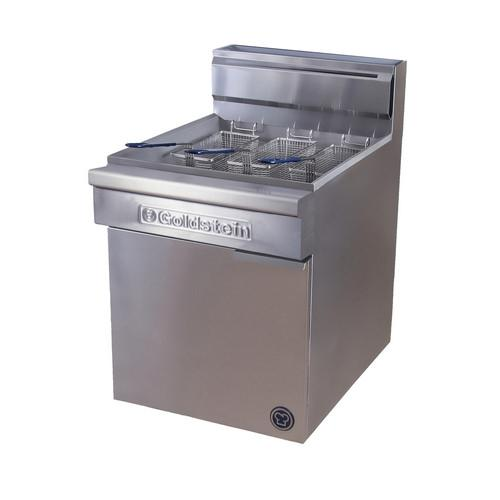FISH FRYER SINGLE PAN 45L GAS 610MM GOLDSTEIN