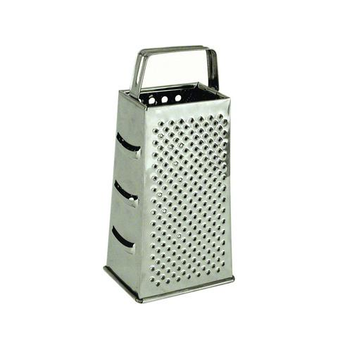 GRATER S/S 4 SIDED BOX 110X85X230MM FLAT HANDLE