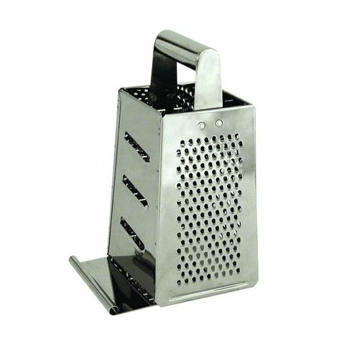 GRATER S/S 4 SIDES BOX W/BASE H/D 115X115X240MM