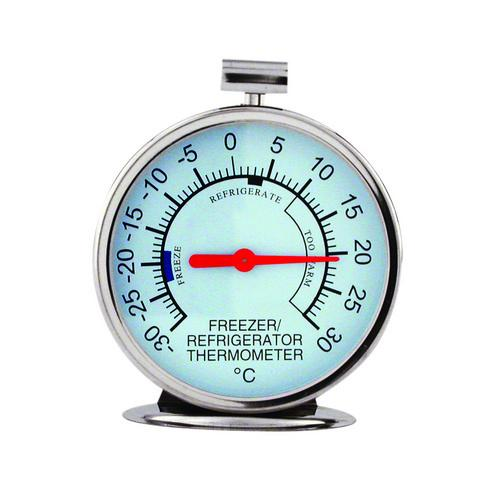 THERMOMETER DIAL FRIDGE/FREEZER S/S -20c TO 70c