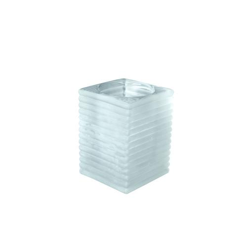 TABLE LAMP BASE GLASS SQUARE FROST KELLY