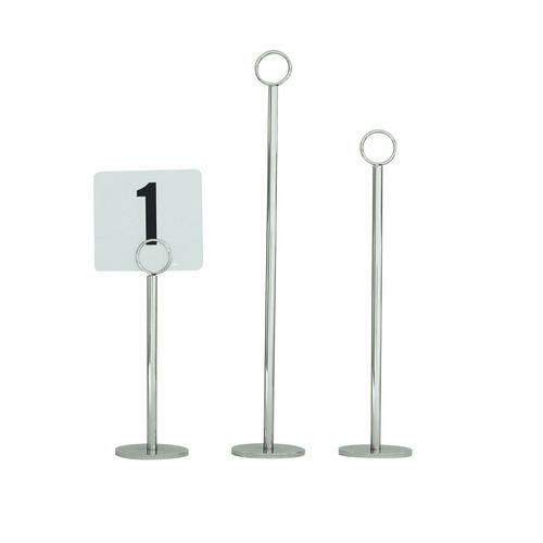 TABLE NUMBER STAND 200MM RING 70MM BASE