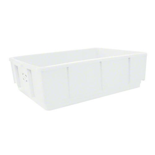 CRATE MULTISTAKA 22L 432X324X203MM WHITE NALLY