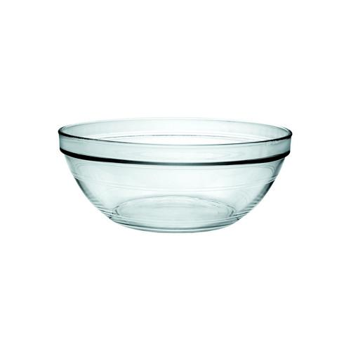 BOWL STACKABLE GLASS 140MM 500ML LYS DURALEX