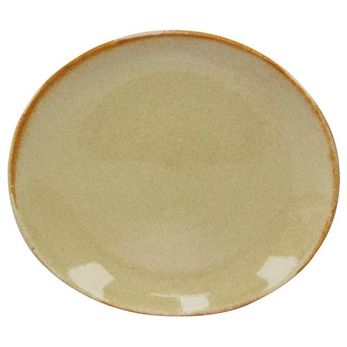 PLATE OVAL 210X190MM FLAME ARTISTICA