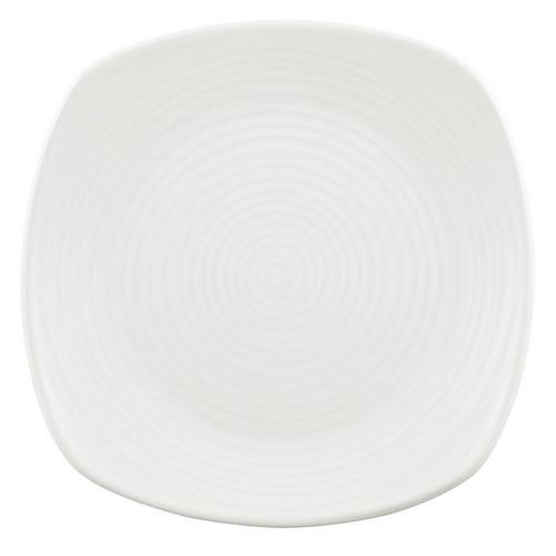 PLATE SQUARE CHEFS 165MM PEARL EVOLUTION DUDSON