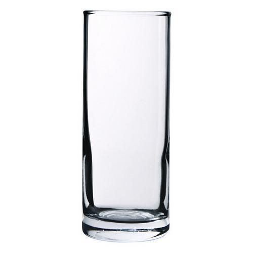 HI BALL GLASS 270ML ASSORTED CROWN