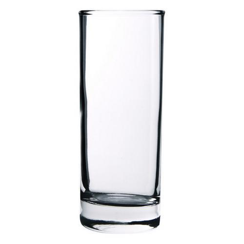 HI BALL GLASS 285ML ASSORTED CROWN
