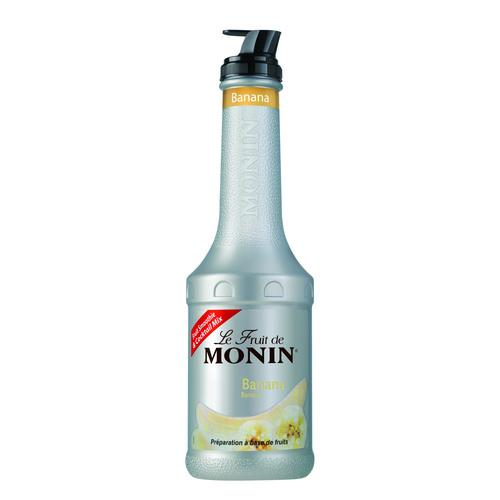 FRUIT PUREE BANANA 1L MONIN