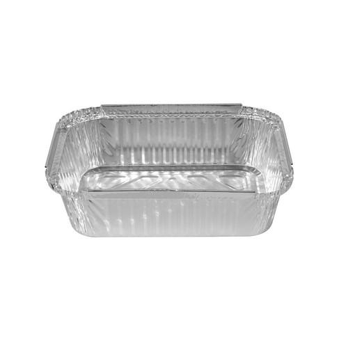 CONTAINER FOIL TAKEAWAY LARGE 1065ML 214X151X46MM (SLEEVE 100)