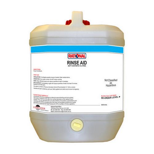 RINSE AID C-JET FOR RATIONAL COMBI OVEN 10L