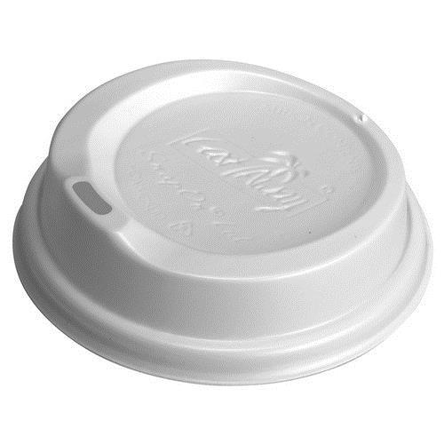 LID PLASTIC SIPPA WHITE FOR 280/355/460ML PAPER CUP (PK100)