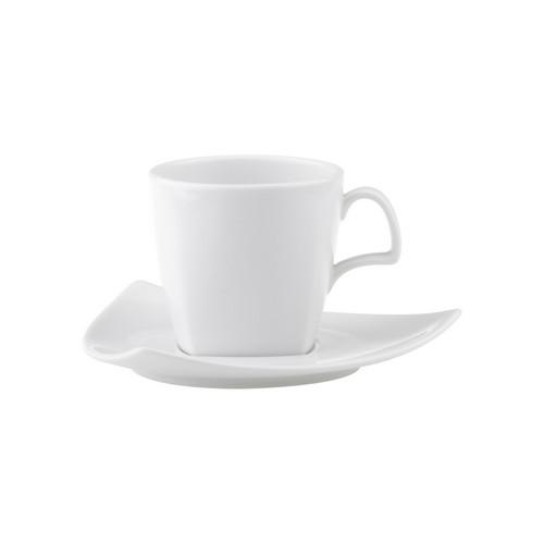 CUP COFFEE TALL SQUARE 200ML ROYAL PORCELAIN