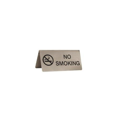 TABLE SIGN - NO SMOKING S/S A-FRAME 100X43MM