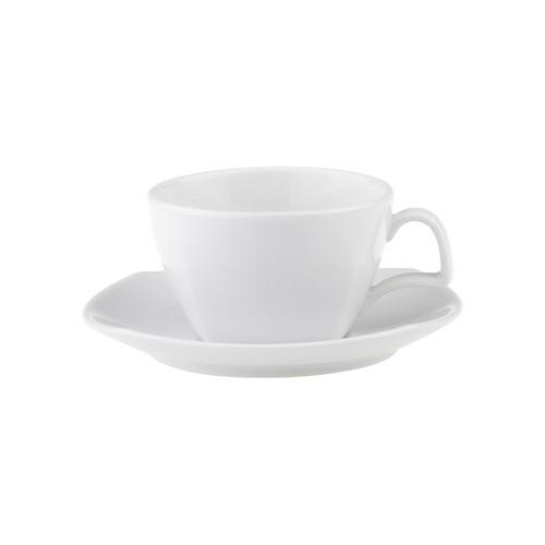 CUP CAPPUCCINO SQUARE 230ML ROYAL PORCELAIN