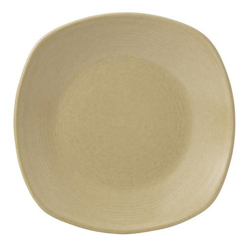 PLATE SQUARE CHEFS 260MM SAND EVOLUTION DUDSON