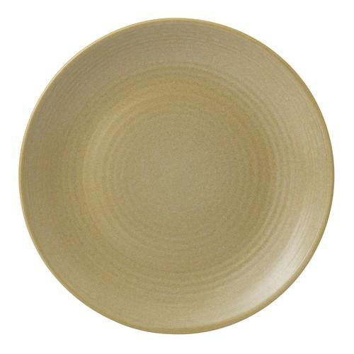 PLATE ROUND COUPE 162MM SAND EVOLUTION DUDSON