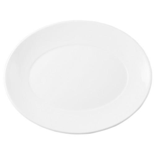 PLATE OVAL 345MM FLAIR DUDSON